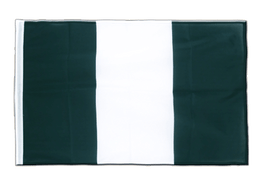 Nigeria - Sleeved Flag PRO 2x3 ft