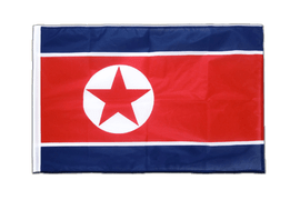 Sleeved North corea Flag PRO - 2x3 ft