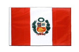 Peru - Sleeved Flag PRO 2x3 ft