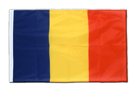Sleeved Rumania Flag PRO - 2x3 ft