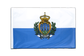 San Marino - Sleeved Flag PRO 2x3 ft