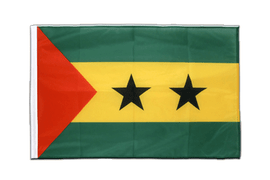 Sao Tome and Principe - Sleeved Flag PRO 2x3 ft