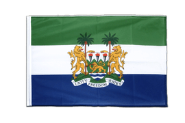 Sierra Leone - Sleeved Flag PRO 2x3 ft