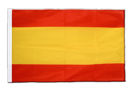 Sleeved Spain without crest Flag PRO - 2x3 ft