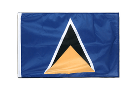 Saint Lucia - Sleeved Flag PRO 2x3 ft