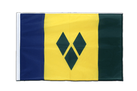 Saint Vincent and the Grenadines - Sleeved Flag PRO 2x3 ft