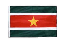 Sleeved Suriname Flag PRO - 2x3 ft