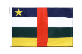 Central African Republic - Sleeved Flag PRO 2x3 ft
