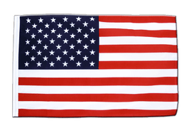 USA - Sleeved Flag ECO 2x3 ft