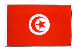 Sleeved Flag ECO Tunisia - 2x3 ft
