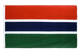 Gambia Flag - 3x5 ft CV