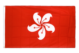 Hong Kong - Premium Flag 3x5 ft CV