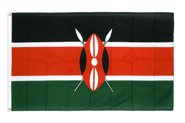 Premium Flag Kenya - 3x5 ft CV