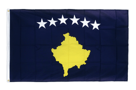 Kosovo - Premium Flag 3x5 ft CV