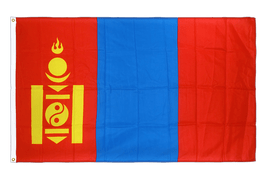 Mongolia Flag - 3x5 ft CV