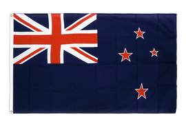 Premium Flag New Zealand - 3x5 ft CV