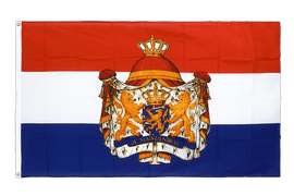 Netherlands with crest - Premium Flag 3x5 ft CV