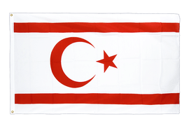 North Cyprus - Premium Flag 3x5 ft CV