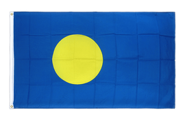 Premium Flag Palau - 3x5 ft CV