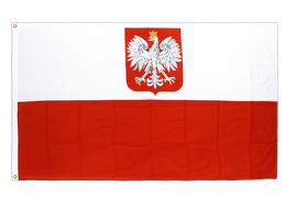 Poland with eagle - Premium Flag 3x5 ft CV