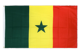 Senegal - Premium Flag 3x5 ft CV