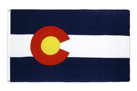 Colorado - Premium Flag 3x5 ft CV