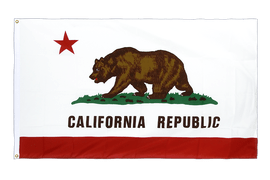 California - Premium Flag 3x5 ft CV