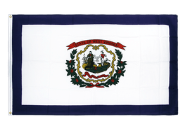 Drapeau West Virginia - 90 x 150 cm CV