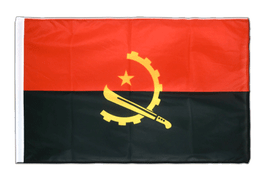 Angola - Sleeved Flag PRO 2x3 ft