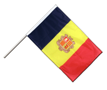 Andorra - Hand Waving Flag PRO 2x3 ft