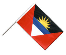 Antigua and Barbuda - Hand Waving Flag PRO 2x3 ft