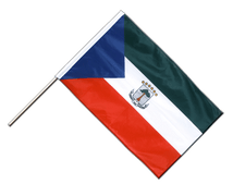 Equatorial Guinea - Hand Waving Flag PRO 2x3 ft