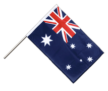 Australia - Hand Waving Flag PRO 2x3 ft