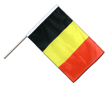 Belgium - Hand Waving Flag PRO 2x3 ft