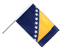 Bosnia-Herzegovina - Hand Waving Flag PRO 2x3 ft