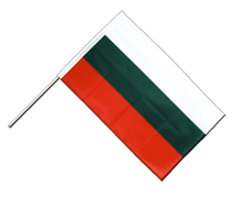 Bulgaria - Hand Waving Flag PRO 2x3 ft