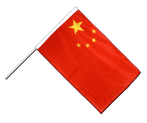China - Hand Waving Flag PRO 2x3 ft