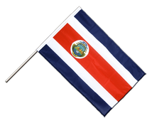 Costa Rica - Hand Waving Flag PRO 2x3 ft