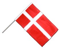 Denmark - Hand Waving Flag PRO 2x3 ft
