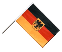 Germany Dienstflagge - Hand Waving Flag PRO 2x3 ft