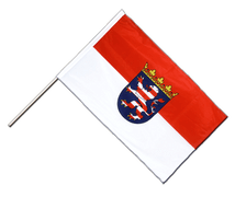 Hesse - Hand Waving Flag PRO 2x3 ft