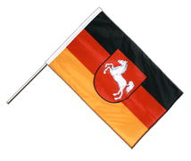 Lower Saxony - Hand Waving Flag PRO 2x3 ft