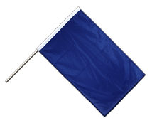 Blue - Hand Waving Flag PRO 2x3 ft