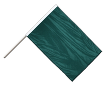 Green - Hand Waving Flag PRO 2x3 ft