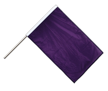 Purple - Hand Waving Flag PRO 2x3 ft