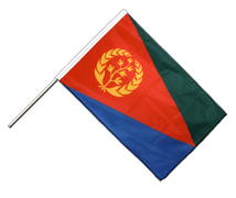 Eritrea Hand Waving Flag PRO - 2x3 ft