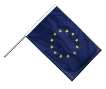European Union EU - Hand Waving Flag PRO 2x3 ft