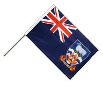 Falkland Islands - Hand Waving Flag PRO 2x3 ft