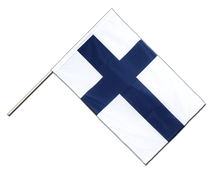 Finland - Hand Waving Flag PRO 2x3 ft