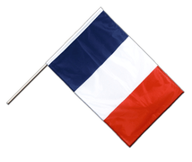 France Hand Waving Flag PRO - 2x3 ft